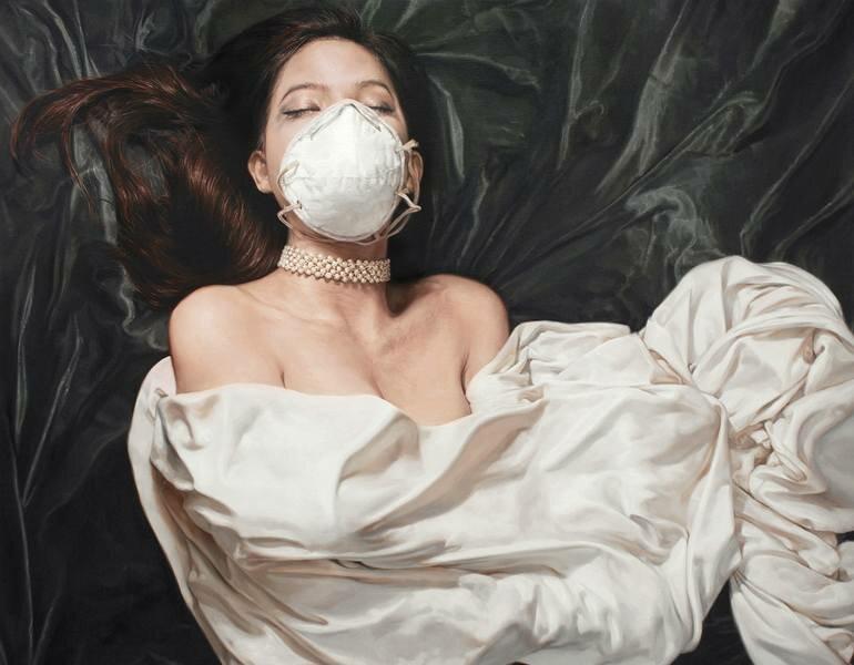 Женщина-товар. Остросоциальная живопись южно-корейского мастера