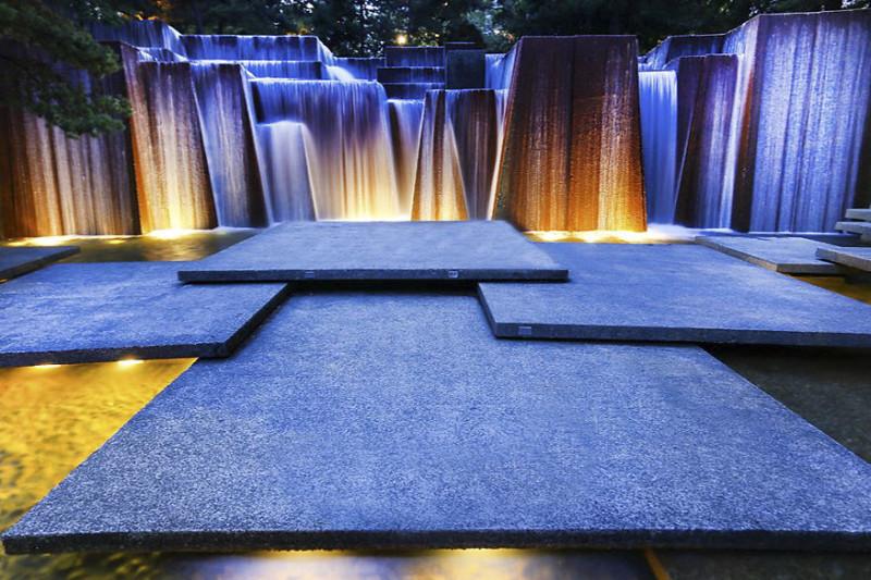 Фонтан Келлер, Портленд, США город, достопримечательность, интересное, мир, подборка, страна, фонтан, фото