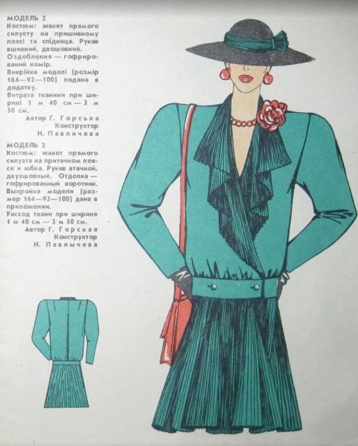 Ретро выкройки из советских журналов