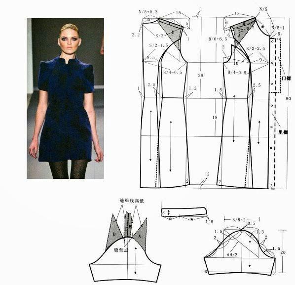 Уроки выкройки и шитья платье