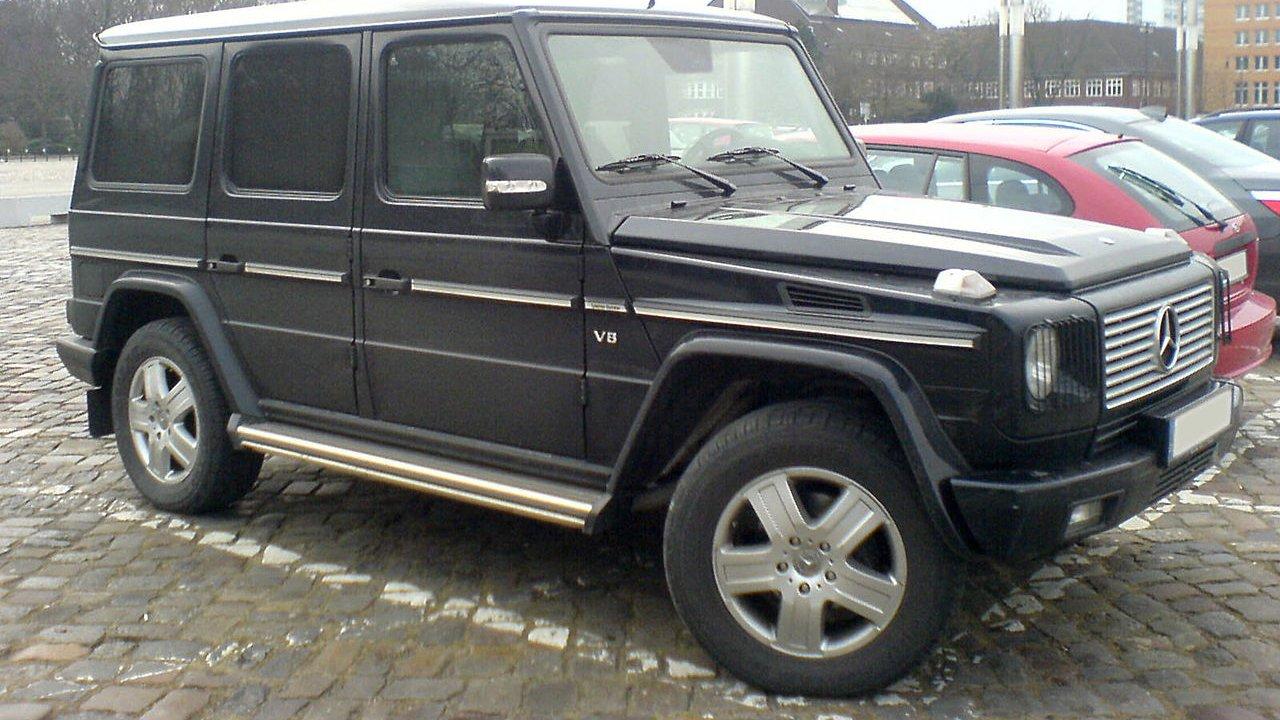 Новосибирцы в 2018 году купили 11 Geländewagen
