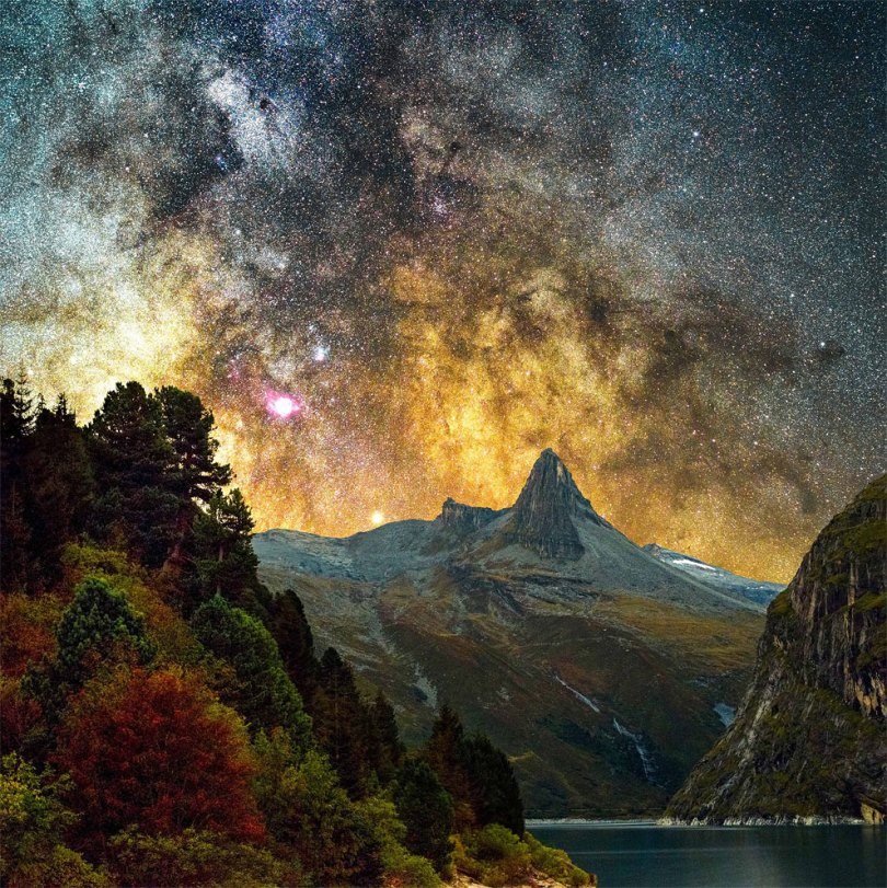 Удивительные снимки Туманности Андромеды