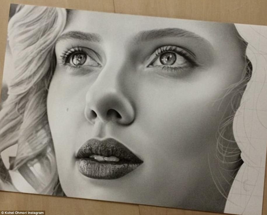 Невероятно реалистичные рисунки карандашом