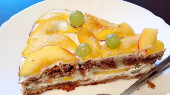 Нежный торт в творожным кремом Торт, Творожный торт, Простые рецепты выпечки, Видео, Длиннопост, Еда, Кулинария, Рецепт