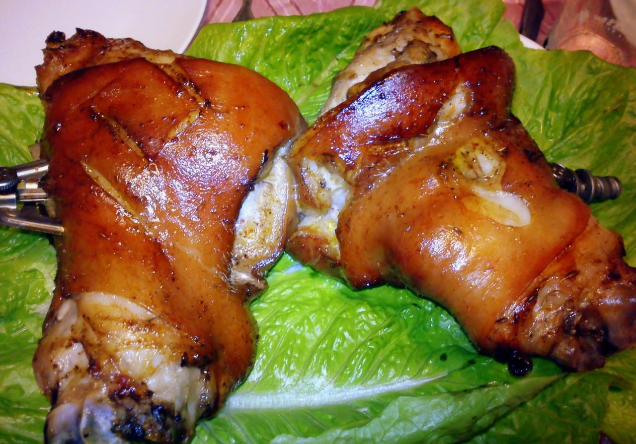 Свиные ножки пошаговый рецепт