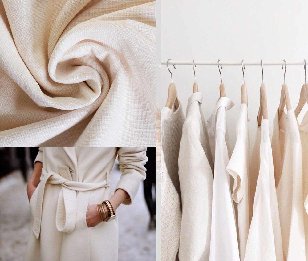 модный тренд, показ мод, пальто