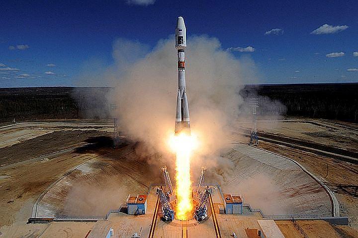 """""""Союз"""" успешно вывел на орбиту военный спутник """"Меридиан-М"""""""