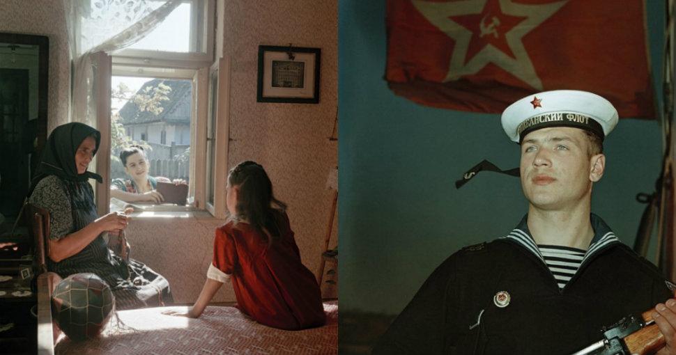 Трудовые будни: неизвестные цветные фото повседневной жизни в СССР 1950-х
