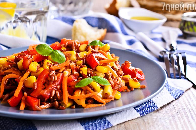 Мексиканский салат «Фиеста»: рецепт вкусной и полезной закуски