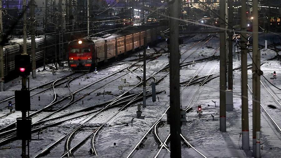 """В МВД опровергли сообщения о """"заминированном поезде"""" на границе с Украиной"""
