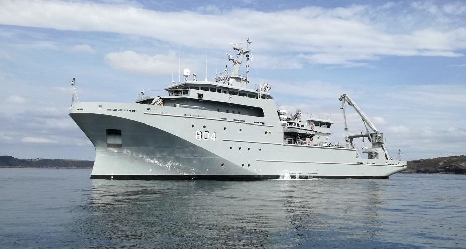 ВМС Марокко получили гидрографическое судно французской постройки