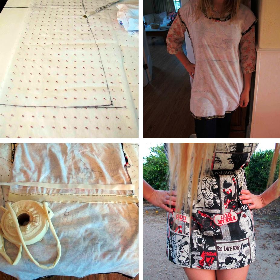 Выкройки платьев для начинающих от А 41