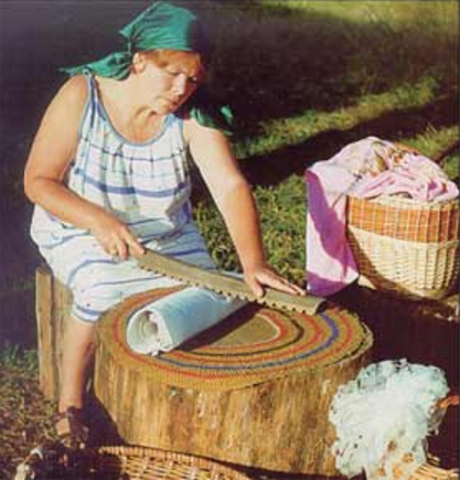 Бученье наших прабабушек. Рубель, скалка и утюг