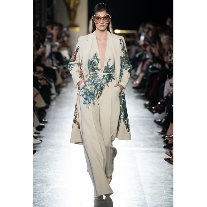 Показ Elie Saab весна/лето 2019 Couture, 22 января