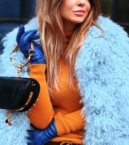 Зима моде не помеха! Подборка стильных образов из инстаграма