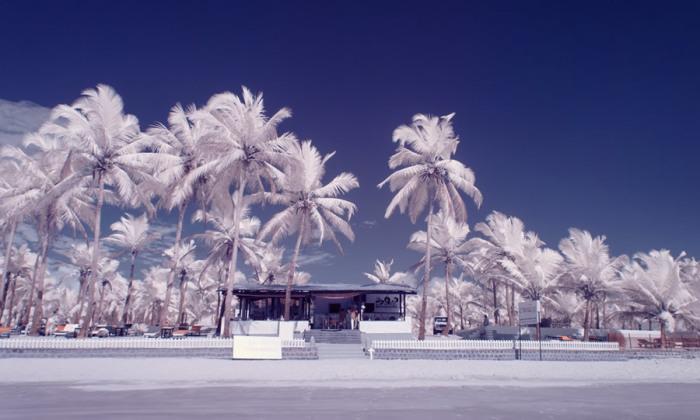 Инфракрасные фото Гоа в межсезонье от индийского фотографа