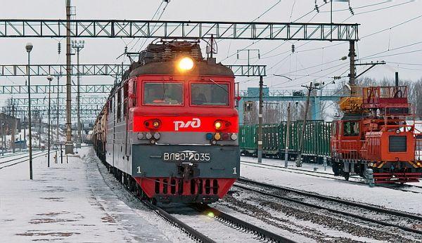 Переполох в Киеве: На вокзале засекли российский локомотив