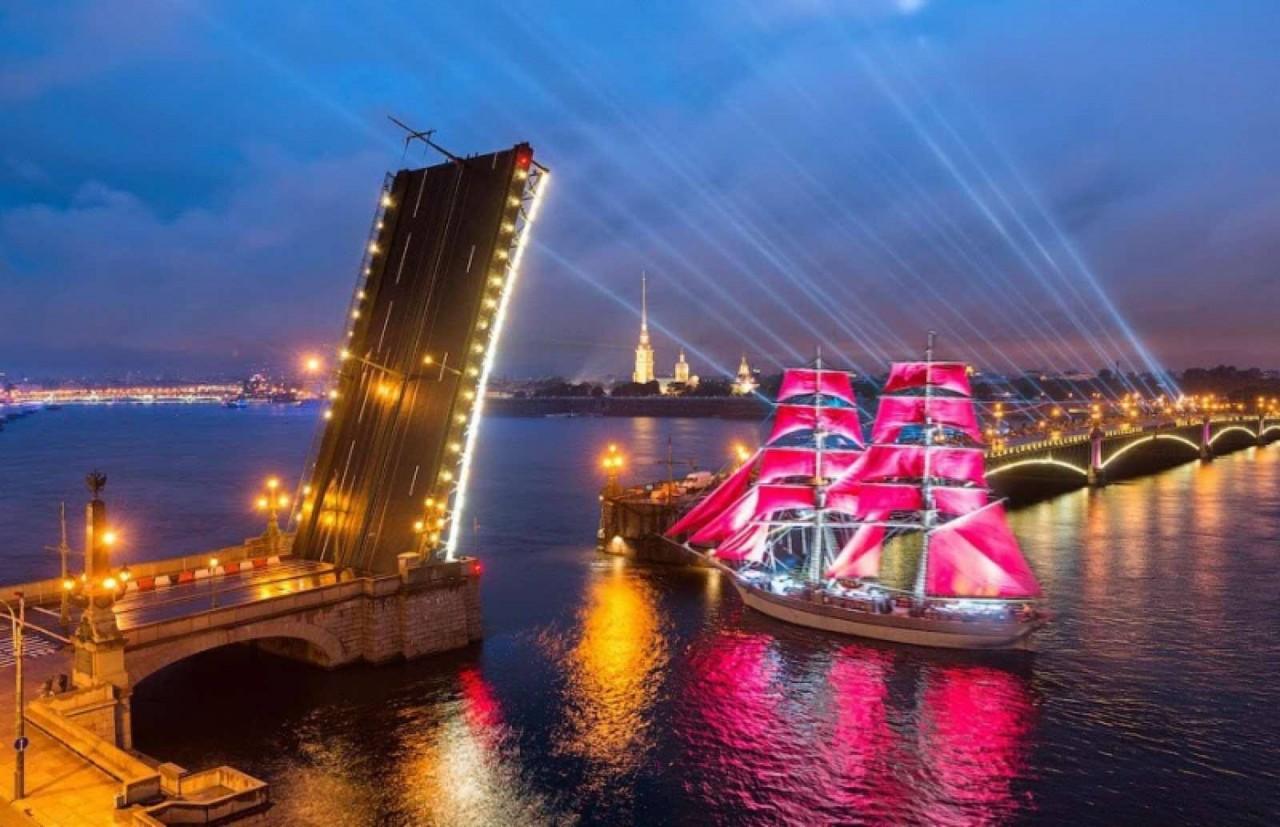 Санкт-Петербург с высоты птичьего полёта (#13)