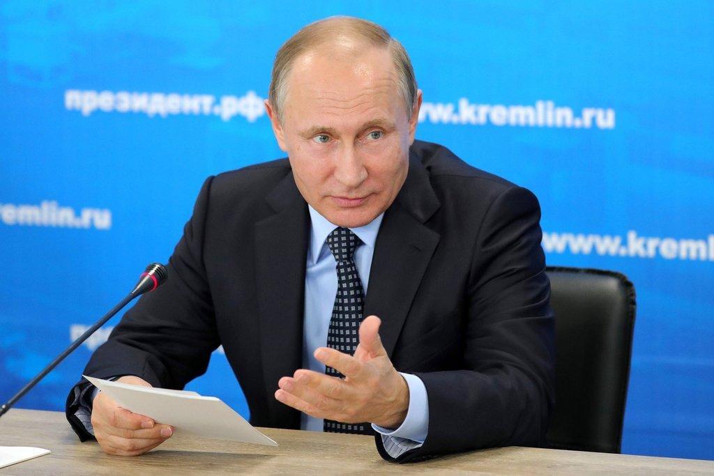 Путин принимает участие в Высшем Евразийском экономическом совете в Сочи