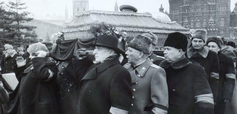 Речь Лаврентия Берии на похоронах Сталина