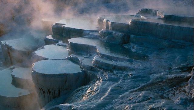 8-е чудо света — знаменитые белоснежные каскады Памуккале