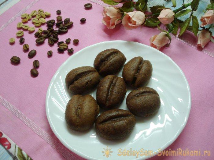 Оригинальное печенье для кофеманов