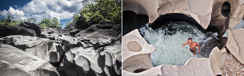 «Лунная долина» в Национальном парке «Chapada dos Veadeiros» в Бразилии