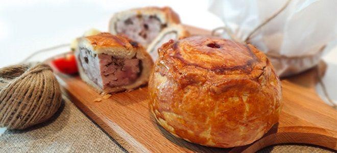 мясной пирог по английски