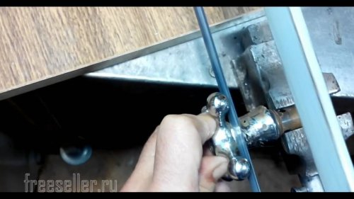 Изготовление спиннера из водопроводного крана
