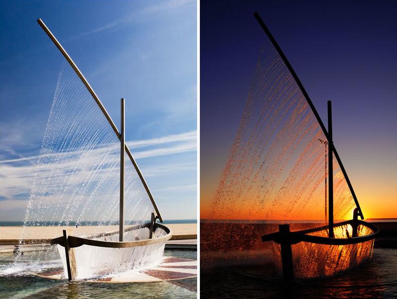 """""""Лодка"""", Валенсия, Испания город, достопримечательность, интересное, мир, подборка, страна, фонтан, фото"""