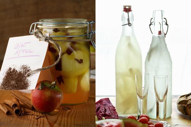 Домашние настойки на водке к Новому году. Чесночная, имбирная, лимонная. И хреновуха, конечно!