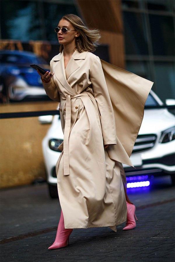 Тренч — главный весенний атрибут стильного гардероба