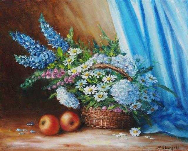 Израильский художник. Natalia Stangrit