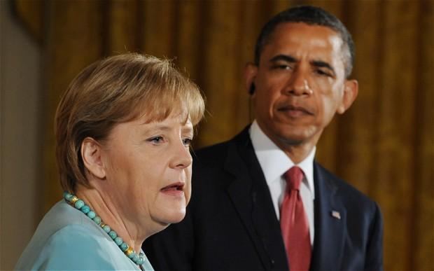 Немецкие читатели про звонок Обамы Меркель: хромая утка позвонила старой курице