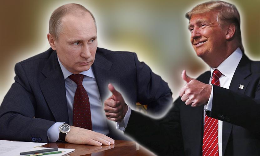 Путин и Трамп встретились в …