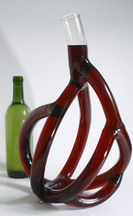 Вино как кровь: удивительные декантеры Этьена Мено