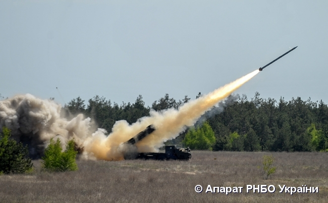 На Украине завершены государственные испытания ракетного комплекса «Вільха»