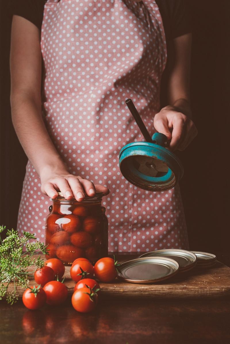 как замариновать помидоры без уксуса