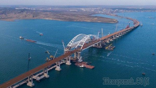Что Украина может реально сделать с мостом в Крым?