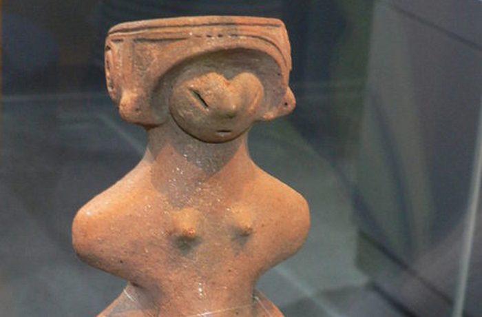 Венера Дзёмон, археологический музей Togariishi Jomon.