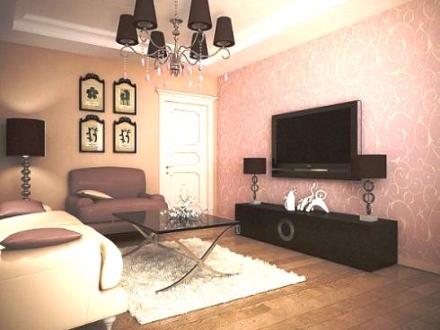 Мило и уютно — интерьер небольшой квартиры обычного дома