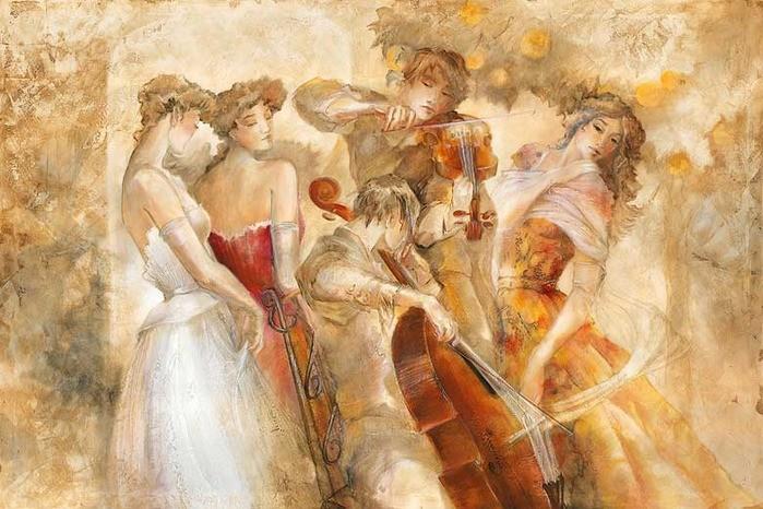 Лена Сотскова: невероятные образы в акварельных картинах