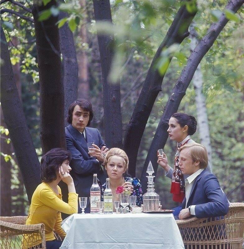 Реклама алкогольной продукции, 1973 год, Москва, СССР