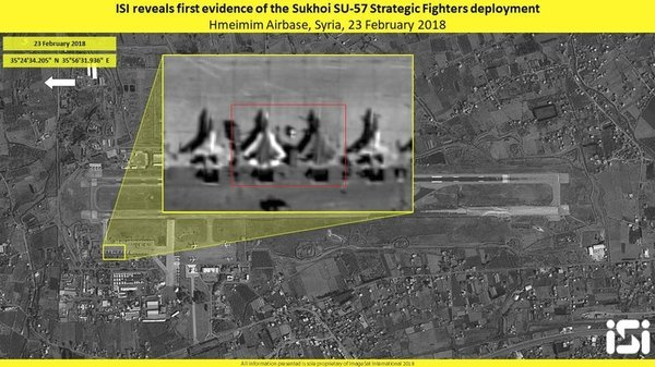 СМИ сообщили о боевом крещении Су-57 в Сирии: применена гиперзвуковая ракета