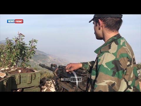 Позиции сирийской армии в Горной Латакии и Долине АльГаб