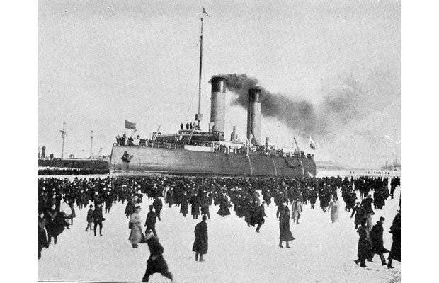 «Ермак» – первый в мире арктический ледокол