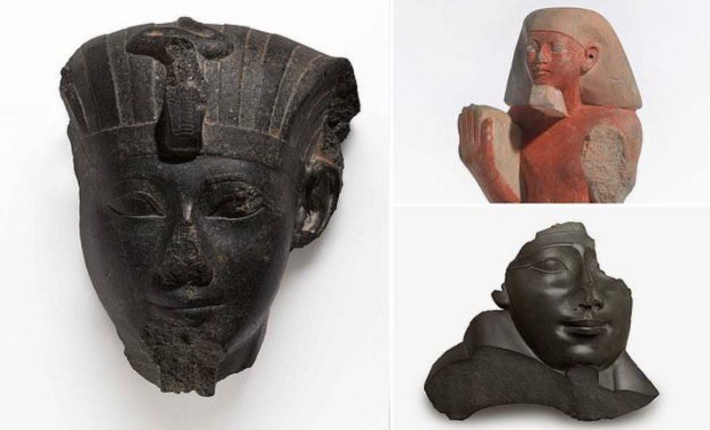 Любопытной Варваре на базаре нос оторвали, или Почему египетским статуям перекрывали дыхание?