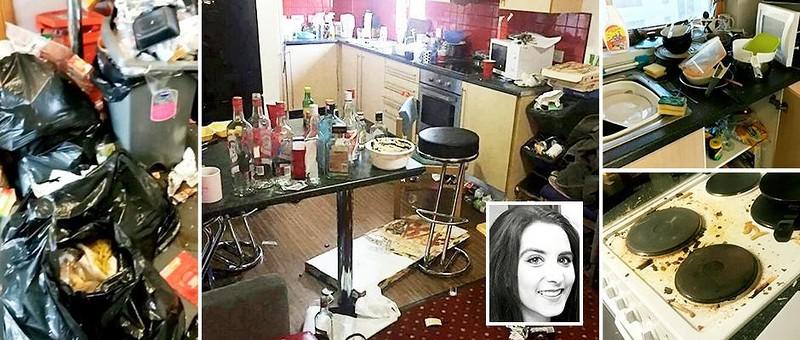 19-летняя студентка выиграла конкурс по выбору самой грязной комнаты