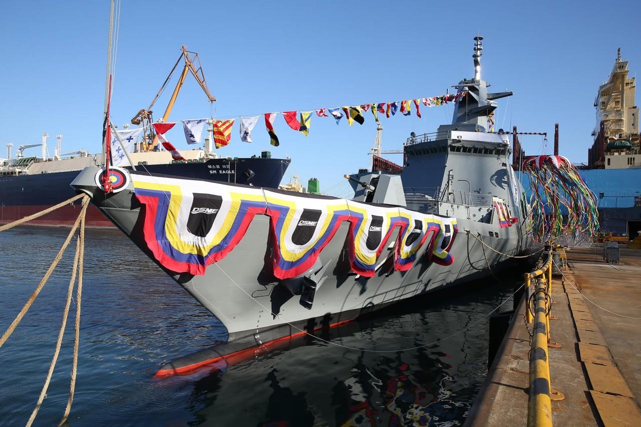 Таиланд получил фрегат Tachin южнокорейской постройки