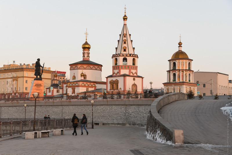 Вечерняя прогулка по Иркутску